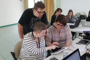 Digital Storytelling with intellectual disabled participants
